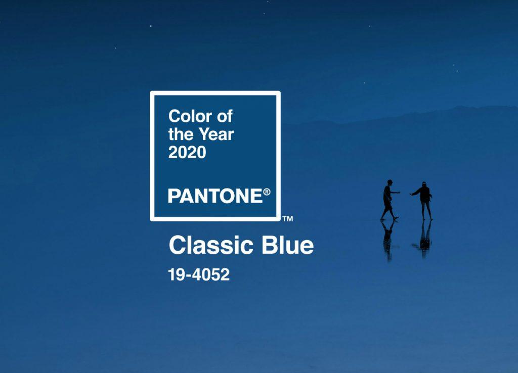 Classic Blue, che nella classificazione PANTONE ha il codice 19-4052